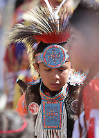 Children or minors performing at the San Manuel Mission Indians Pow Wow.  These images cannot be purchased or used for any reason.