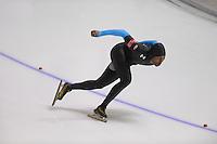 SCHAATSEN: CALGARY: Olympic Oval, 08-11-2013, Essent ISU World Cup, 1000m, Shani Davis (USA), ©foto Martin de Jong