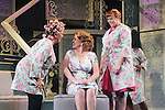 """Guiding Light's Kim Zimmer stars with All My Children's Jane Brockman and Molly Tower in """"It Shoulda Been You"""" - a new musical comedy - at the Gretna Theatre on July 30, 2016. Both Jane and Kim starred separate companies of the national tour of Wicked. (Photo by Sue Coflin/Max Photos)"""