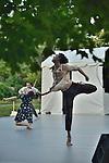 Gallim Dance at The Pocantico Center, Kykuit, New York.