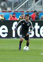 24 March 2012: San Jose Earthquakes forward Chris Wondolowski #8 in action during a game between the San Jose Earthquakes and Toronto FC at BMO Field in Toronto..The San Jose Earthquakes won 3-0..