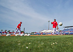 3 March 2016: Washington Nationals infielder Anthony Rendon tosses a ball aside prior to a Spring Training pre-season game against the New York Mets at Space Coast Stadium in Viera, Florida. The Nationals defeated the Mets 9-4 in Grapefruit League play. Mandatory Credit: Ed Wolfstein Photo *** RAW (NEF) Image File Available ***