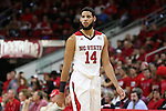 27 November 2015: NC State's Caleb Martin. The North Carolina State University of North Carolina Wolfpack hosted the Winthrop University Eagles at the PNC Arena in Raleigh, North Carolina in a 2015-16 NCAA Division I Men's Basketball game. NC State won the game 87-79.