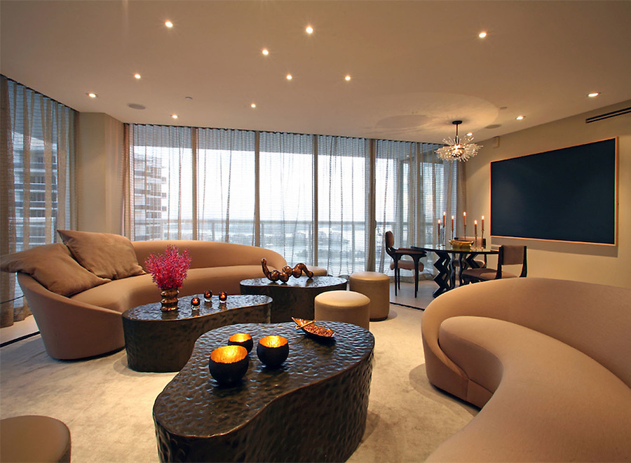 South Beach Apartment Design by Colin Cowie