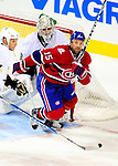 6 February 2010: Montreal Canadiens' center Glen Metropolit in second period action against the Pittsburgh Penguins at the Bell Centre in Montreal, Quebec, Canada. The Canadiens defeated the Penguins 5-3. Mandatory Credit: Ed Wolfstein Photo