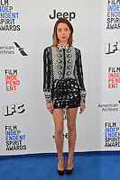 Aubrey Plaza at the 2017 Film Independent Spirit Awards on the beach in Santa Monica, CA, USA 25 February  2017<br /> Picture: Paul Smith/Featureflash/SilverHub 0208 004 5359 sales@silverhubmedia.com