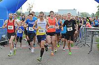 ATLETIEK: JOURE: 28-09-2014, Jouster Merke Loop, Riekele Kobus wint de 16 EM (#3569), ©foto Martin de Jong