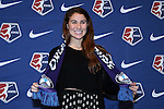 15 January 2016: Sam Witteman was taken with the #10 overall pick by the Orlando Pride. The 2016 NWSL College Draft was held at The Baltimore Convention Center in Baltimore, Maryland as part of the annual NSCAA Convention.