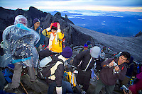 Mt Kinabalu,  Sabah, Borneo, Malaysia, March 2006. Mt Kinabalu 4090m, is the highest mountain between the Himalaya's and Papua New guinea. It can be climbed without technical support however it is a very strenuous adventure. Photo by Frits Meyst/Adventure4ever.com