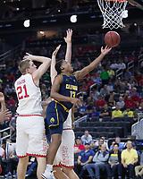 Cal Basketball M vs Utah, March 9, 2017