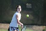 Oxford High's Ane Marie Edlin vs. New Hope at Avent Park on Tuesday, April 6, 2010 in Oxford, Miss.