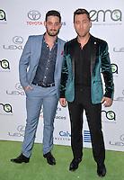 BURBANK, CA. October 22, 2016: Lance Bass &amp; Michael Turchin at the 26th Annual Environmental Media Awards at Warner Bros. Studios, Burbank.<br /> Picture: Paul Smith/Featureflash/SilverHub 0208 004 5359/ 07711 972644 Editors@silverhubmedia.com