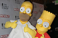 Homer Simpson, Bart Simpson<br /> at the NCTA's Chairman's Gala Celebration of Cable with REVOLT, The Belasco Theater, Los Angeles, CA 04-30-14<br /> David Edwards/DailyCeleb.Com 818-249-4998