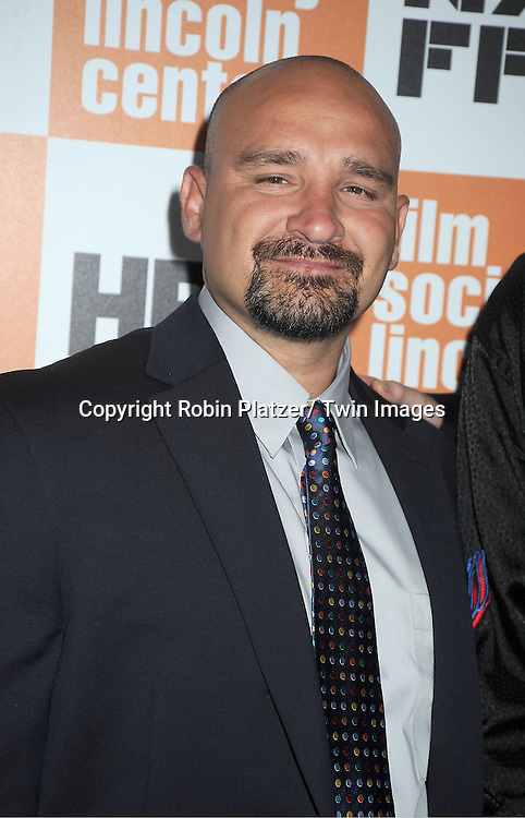 """The West Memphis 3 Jessie Misskelley, Jr, attends the 49th Annual New York  Film Festival Screening of """" Paradise Lost 3: Purgatory"""" on October 10, 2011 at Alice Tully Hall in New York City. This is the story of The West Memphis Three who were set free after being in prison for 18 years"""