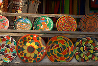Mexican handicrafts for sale in Coba, Quintana Roo, Mexico.
