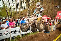 GNCC ATV race at Hurricane Mills TN 2009.
