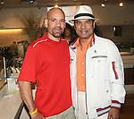 John Lopez of Tumeric and Bikram Choudhoury attend Bikram Choudhury Visits East West, New York, 5/23/10