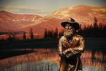 John Muir statue in Yosemite NP Visitor Center