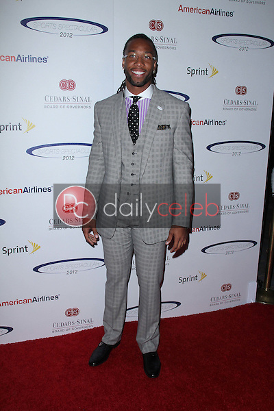 Larry Fitzgerald<br /> at the 27th Anniversary Of Sports Spectacular, Century Plaza, Century City, CA 05-20-12<br /> David Edwards/DailyCeleb.com 818-249-4998