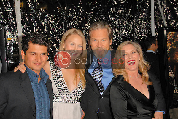 Jeff Bridges and family<br />