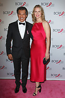 """Frederic Fekkai and Shirin von Wulffen attend The Breast Cancer Research Foundation """"Super Nova"""" Hot Pink Party on May 12, 2017 at the Park Avenue Armory in New York City."""