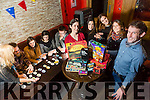 Listowel Board Knights board gaming society looking for new members, who meet up once a week on Tuesday and play board games at Christy's Bar Listowel. Pictured front l-r Jade O'Mahony, Laura Arla, Ercilia Lopez, Beadriz Salguero, Damien O'Mahony, Back l-r Anna Harrington, Eoin Kenny, Cora McLean, Julie Dexet, James Bambury