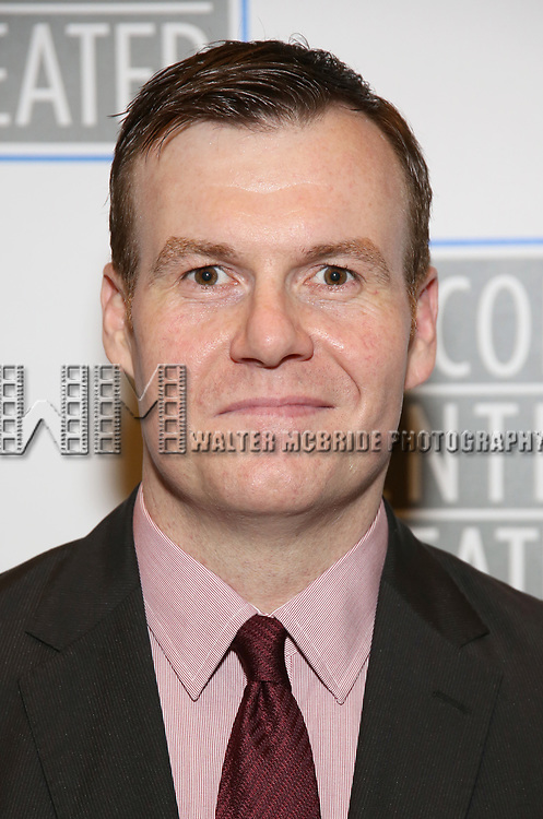 Jeb Kreager attends the Opening Night Performance press reception for the Lincoln Center Theater production of 'Oslo' at the Vivian Beaumont Theater on April 13, 2017 in New York City.