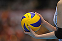 The detailed shot,.MAY 27, 2012 - Volleyball : FIVB the Women's World Olympic Qualification Tournament for the London Olympics 2012, between Japan 2-3 Serbia at Tokyo Metropolitan Gymnasium, Tokyo, Japan. (Photo by Jun Tsukida/AFLO SPORT) [0003].