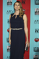 HOLLYWOOD, LOS ANGELES, CA, USA - OCTOBER 05: Amazon Eve arrives at the Los Angeles Premiere Screening Of FX's 'American Horror Story: Freak Show' held at the TCL Chinese Theatre on October 5, 2014 in Hollywood, Los Angeles, California, United States. (Photo by Celebrity Monitor)