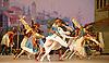 Le Corsaire <br /> by Alexei Ratmansky of Petipa <br /> Bolshoi Ballet <br /> at The Royal Opera House, Covent House, London, Great Britain <br /> 11th August 2016 <br /> Rehearsal<br /> <br /> <br /> <br /> ------------------------<br /> <br /> Yulia Stepanova as Medora<br /> Denis Rodkin as Conrad <br /> Nina Kaptsova as Culnare <br /> Vitaly Biktimirov as Birbanto <br /> Denis Medvedev as Lankendem <br /> <br /> <br /> <br /> Photograph by Elliott Franks <br /> Image licensed to Elliott Franks Photography Services