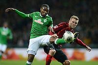 Fussball Bundesliga 2013/14:  Werder Bremen - Hannover 96