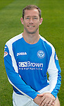 St Johnstone FC Season 2012-13 Photocall.Frazer Wright.Picture by Graeme Hart..Copyright Perthshire Picture Agency.Tel: 01738 623350  Mobile: 07990 594431