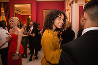 Alicia Keys attends the Bloomberg Vanity Fair White House Correspondents' Association dinner afterparty at the residence of the French Ambassador on Saturday, April 28, 2012 in Washington, DC. Brendan Hoffman for the New York Times