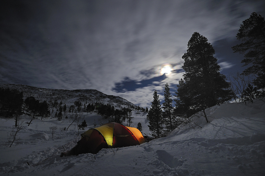 Tenting in Trollheimen,Norway