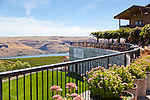 The Maryhill Winery in Washington State features stunning views of the Columbia River, the Eastern Gorge and Mount Hood