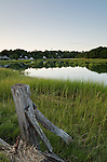 Looking across Duck Creek to Wellfleet center.