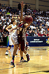 23 MAR 2012: Alyssa Lane (15) of Shaw puts up a shot during the Division II Womens Basketball Championship held at Bill Greehey Arena in San Antonio, TX.  Shaw University defeated Ashland University 88-82 for the national title.  Rodolfo Gonzalez/ NCAA Photos