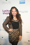 Donna Kim From Donna Daily.Com Attends Lucky Magazine's Ninth Annual LUCKY SHOPS Event Hosted by Grammy® Award-Winning Recording Artist, Jennifer Hudson At 82 Mercer, NY  12/6/12