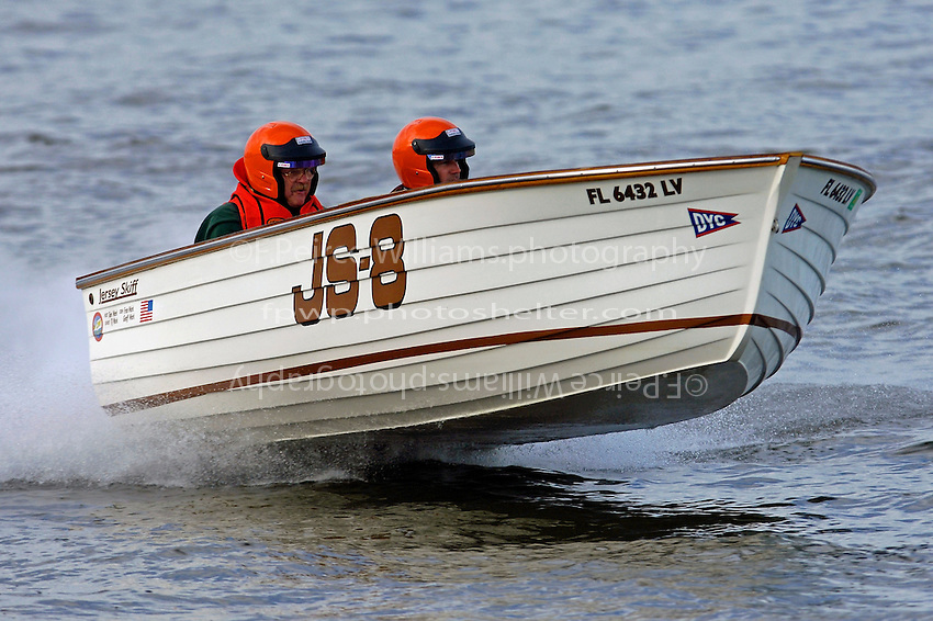 "JS-8 ""Jersey Girl"" (Jersey Speed Skiff)"