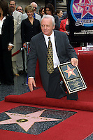 ©2003 KATHY HUTCHINS / HUTCHINS PHOTO.ANTHONY HOPKINS RECEIVES HIS STAR ON THE .HOLLYWOOD WALK OF FAME.SEPTEMBER 24, 2003..ANTHONY HOPKINS