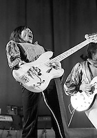 Rod Stewart and Faces (Tetsu Yamauchi) 1973  Credit: Ian Dickson/MediaPunch
