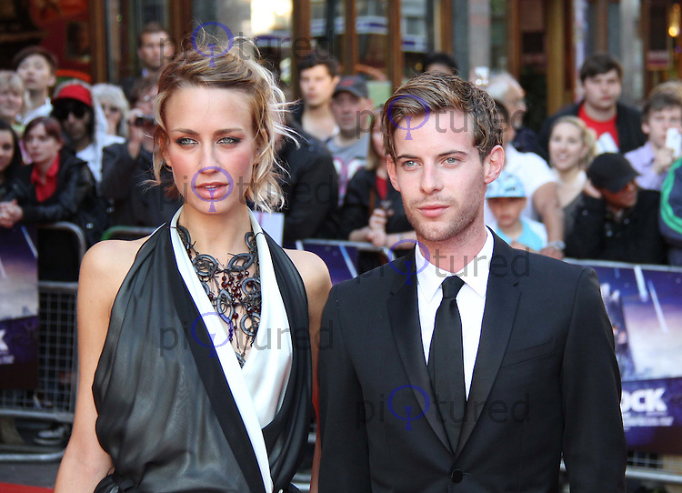 Ruta Gedmintas; Luke Treadaway Attack The Block UK Premiere, Vue Cinema, Leicester Square, London, UK, 04 May 2011:  Contact: Rich@Piqtured.com +44(0)7941 079620 (Picture by Richard Goldschmidt)