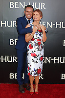 "HOLLYWOOD, CA - AUGUST 16: Mark Burnett, Roma Downey at the LA Premiere of the Paramount Pictures and Metro-Goldwyn-Mayer Pictures title ""Ben-Hur"", at the TCL Chinese Theatre IMAX on August 16, 2016 in Hollywood, California. Credit: David Edwards/MediaPunch"