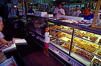 Komoda's Bakery, a long-standing, famous local bakery in Maui's paniolo or cowboy town of Makawao, is known for their creampuffs.