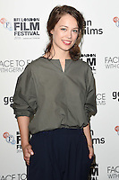 LONDON, UK. October 9, 2016: Paula Beer at the Face to Face with German Films photocall as part of the London Film Festival 2016, Mayfair Hotel, London.<br /> Picture: Steve Vas/Featureflash/SilverHub 0208 004 5359/ 07711 972644 Editors@silverhubmedia.com