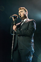 Sam Smith in concert at The Fox Theater in Oakland