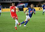 Millonarios 1 - 0 Santa Fe   Estadio Nemesio Camacho El campín   Fecha 20 de la Liga Águila 2015 - II