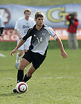 5 November 2006: Wake Forest's Ryan Solle. Duke defeated Wake Forest 1-0 in overtime at the Maryland Soccerplex in Germantown, Maryland in the Atlantic Coast Conference college soccer tournament final.