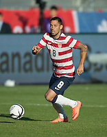 03 June 2012: US Men's National Soccer Team midfielder Clint Dempsey  #8 in action during an international friendly soccer match between the United States Men's National Soccer Team and the Canadian Men's National Soccer Team at BMO Field in Toronto.