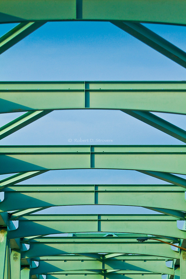 Pittsburgh's bridges - Sewickley bridge structural detail
